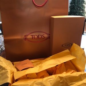 TODS SHOE BOX And BAG